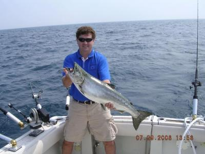 Confusion charters in chicago illinois us sport for Chicago fishing charters