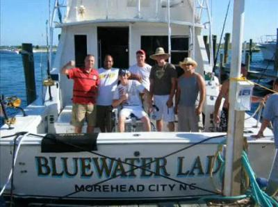 Bluewater lady sportfishing in morehead city north for Fishing morehead city nc