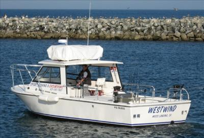 west wind charter sport fishing and excursions in monterey